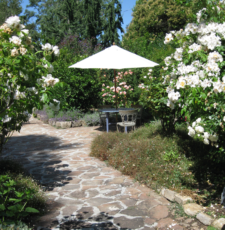 Gardens By Maria: Shady Oaks {A Tour Of Napa Valley}
