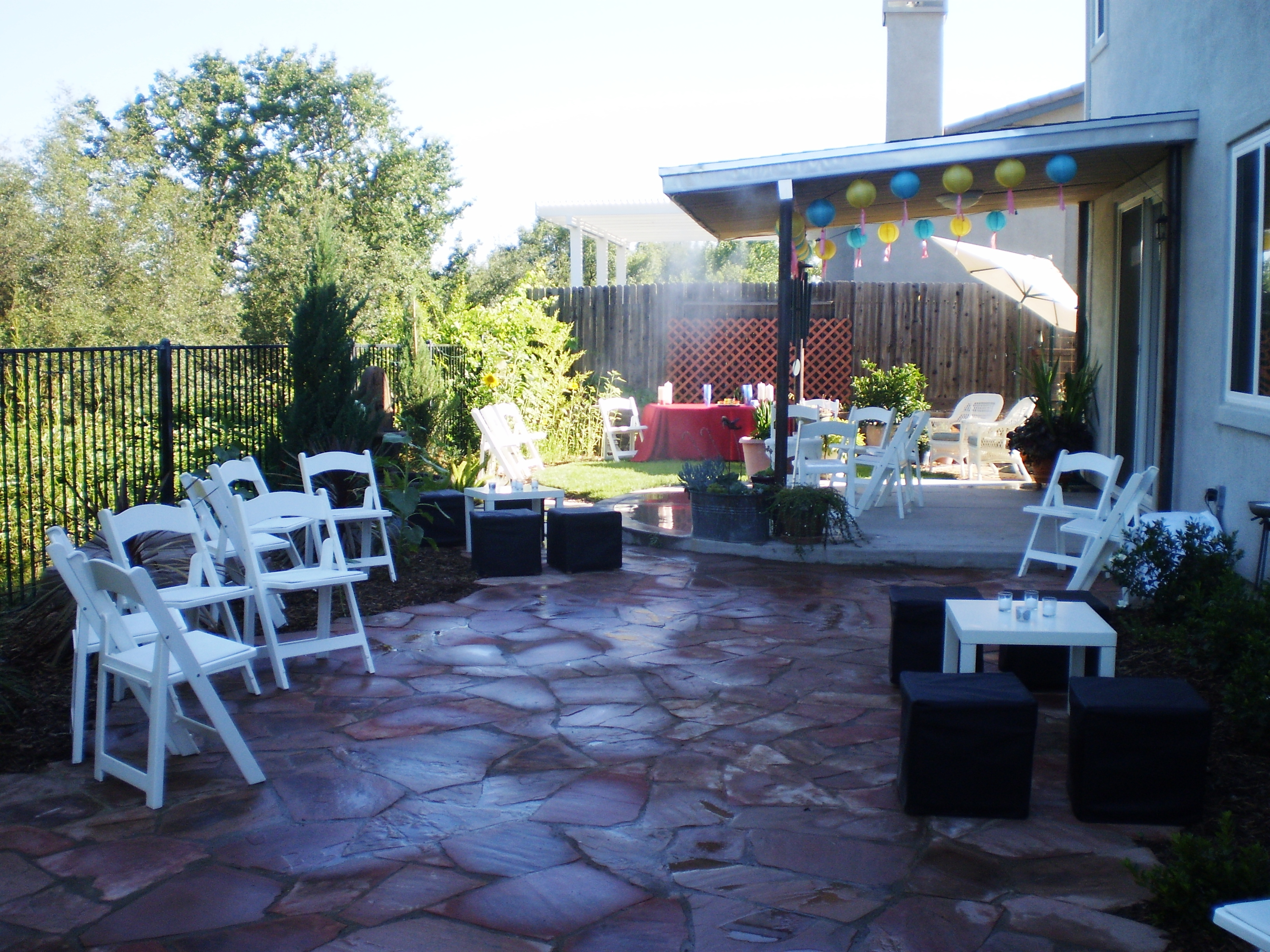 Elegant Backyard Engagement Party Ideas : The Bewildered BridetoBe Engagement Parties  Catrina Maria Event