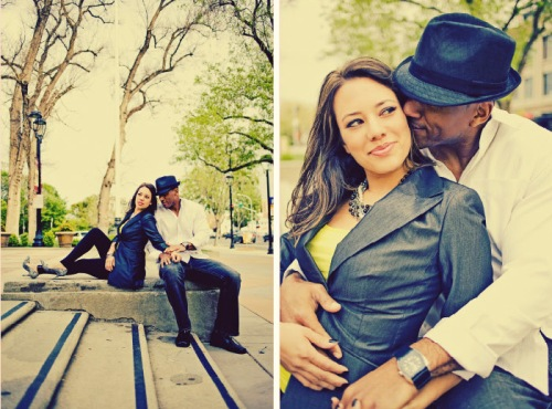 Carla and Loren Engagment by Tinywater