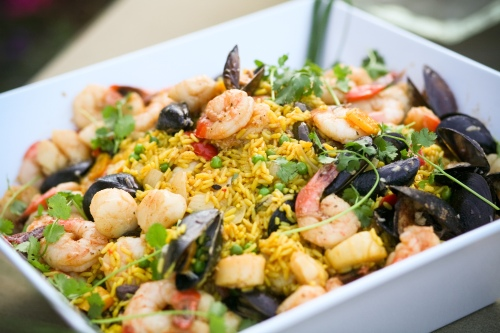Seafood Paella from Wine Valley Catering