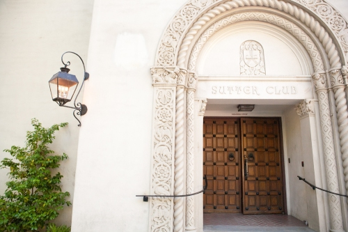 Entrance to the Sutter Club