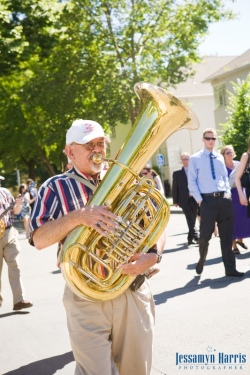 New Orleans Jazz Band Tuba Player
