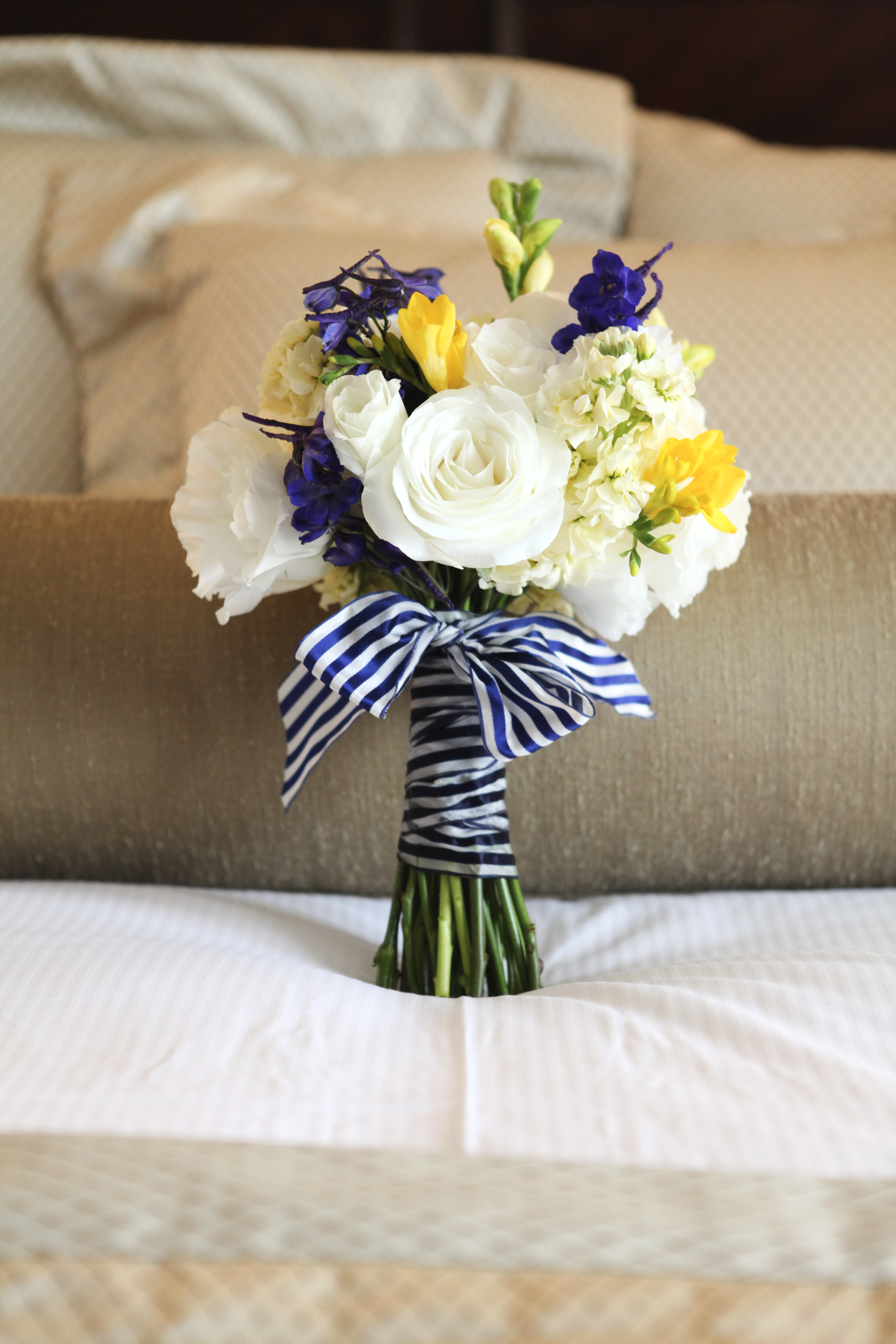 Nautical Themed Flower Arrangements