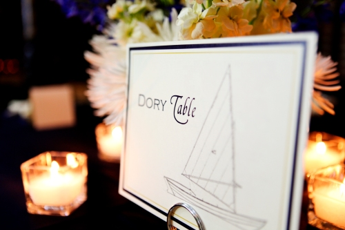 Ship themed table name